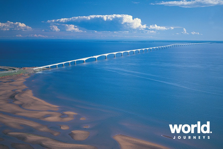 Confederation Bridge. credit: Tourism Prince Edward Island