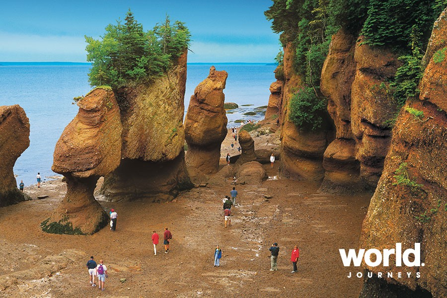 Hopewell Rocks. credit: New Brunswick Tourism