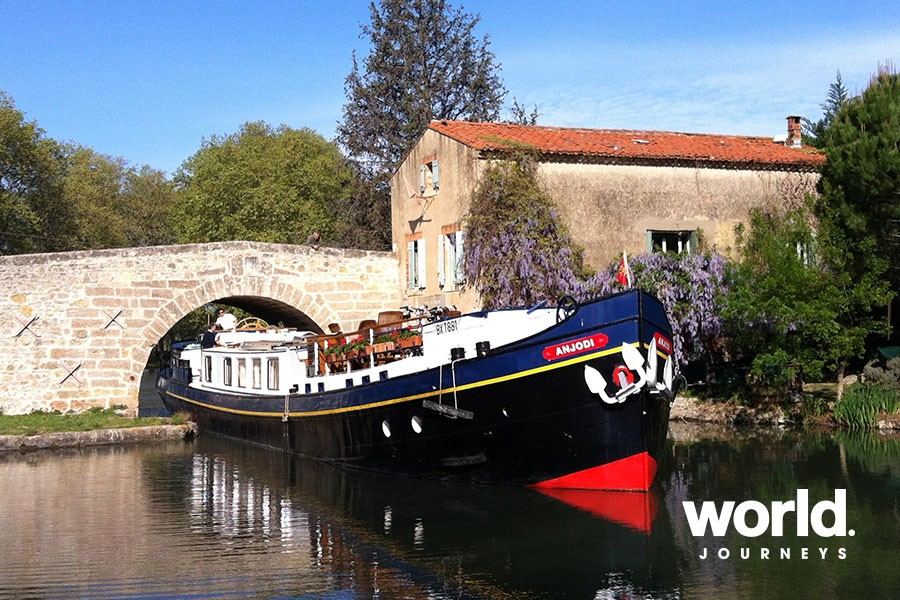 Barging the Canal du Midi