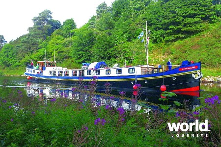 Barging the Scottish Highlands