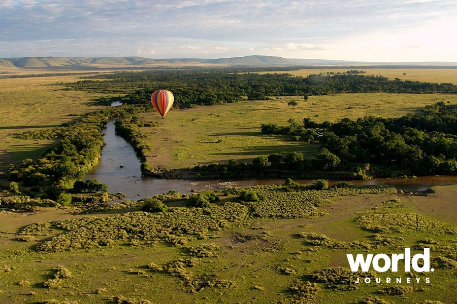 Air Balloon over the Masai Mara