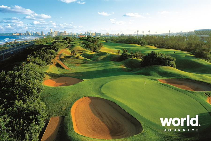 Rovos Rail: The African Golf Collage