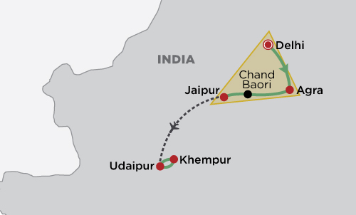 Golden Triangle map