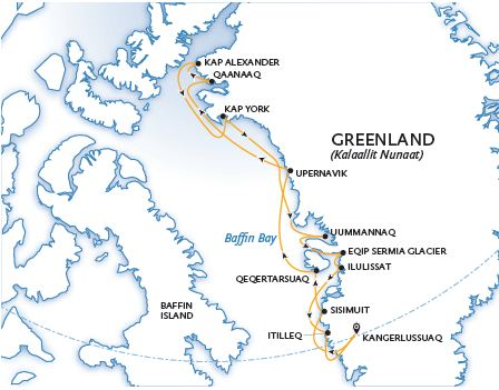 Greenlands Far North Ultimate Thule map