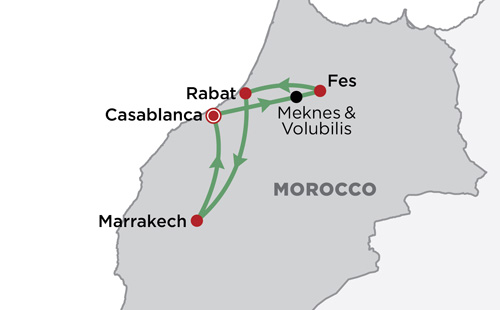 In Moroccan Style map