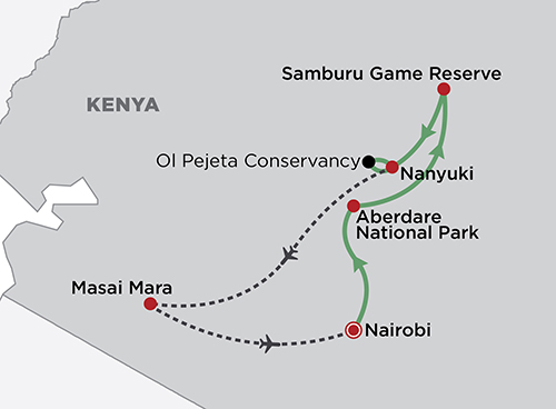 Kenya Discovery map