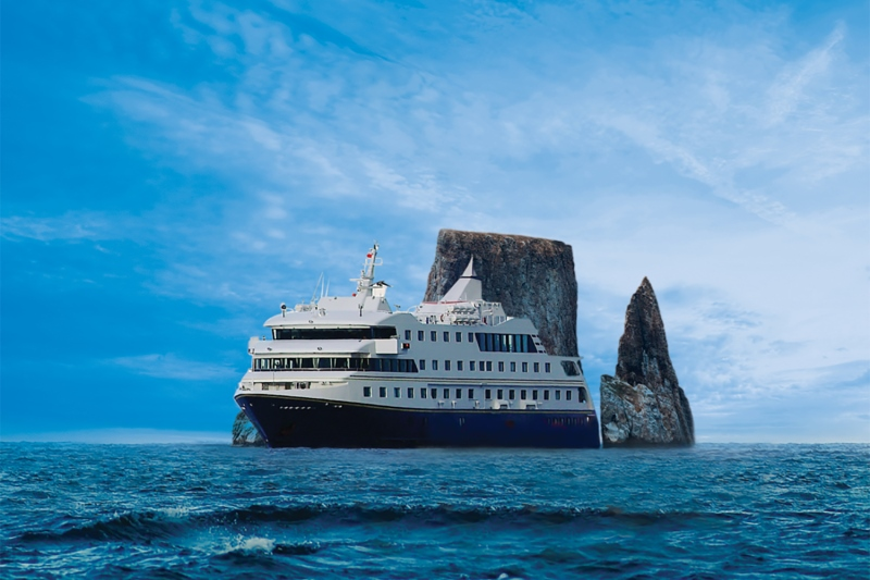 Santa Cruz II in the Galapagos Islands