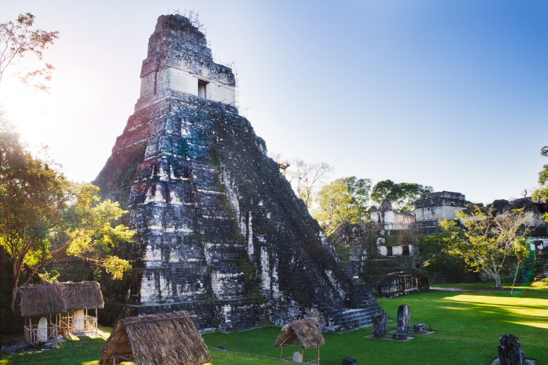 The Mayan Ruins in Tikal, Guatemala