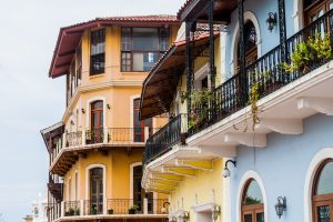 Colonial Buildings, Casco Viejo (Old Town) of Panama