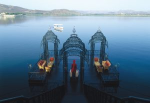 Arrival Jetty, The Taj Lake Palace