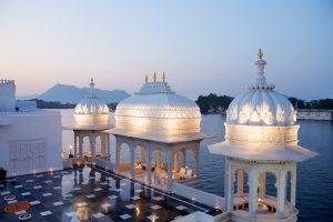 Terrace, The Taj Lake Palace