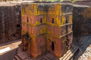 The Church of St. George, Lalibela
